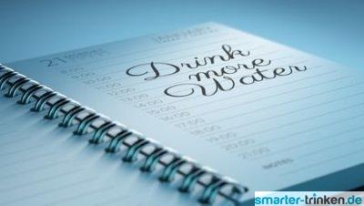 Einfach mehr Wasser trinken