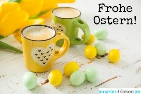 Wasser unbedenklich aufkochen für Osterbrunch und Kaffeetafel
