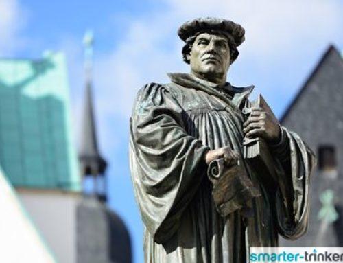 Populär nach 500 Jahren: Luthers Durstlöscher