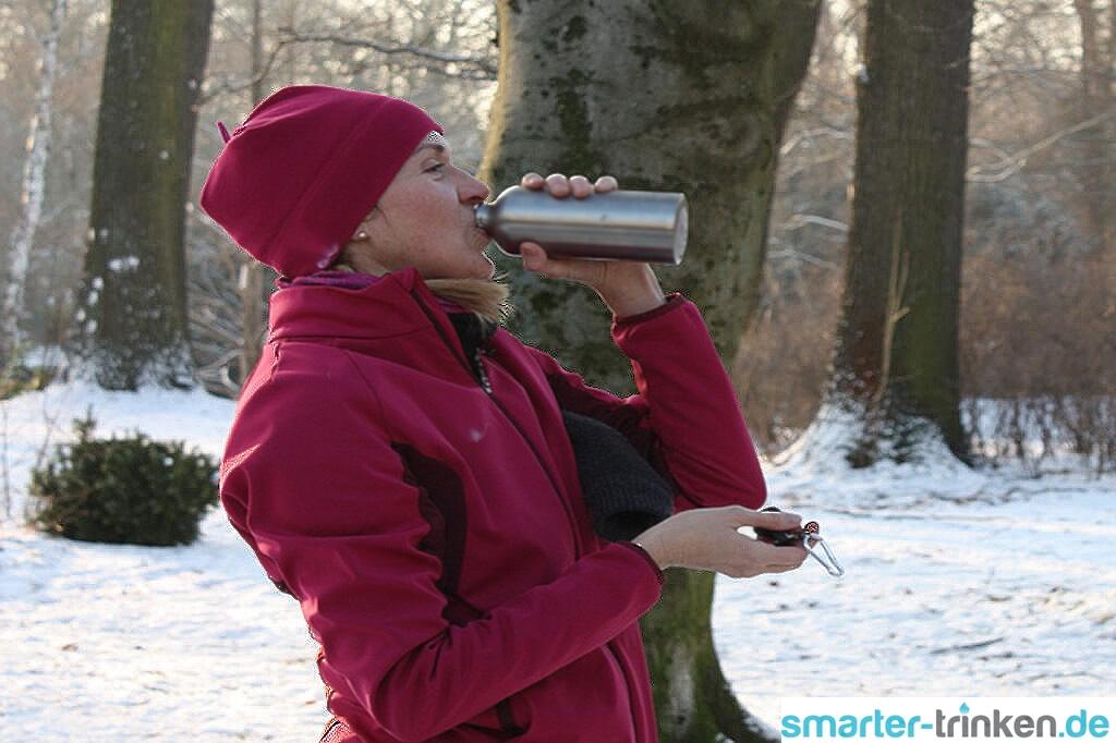 Ist der Wasserbedarf im Winter geringer als im Sommer?