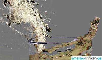 Levitation von Trinkwasser - was bedeutet das?